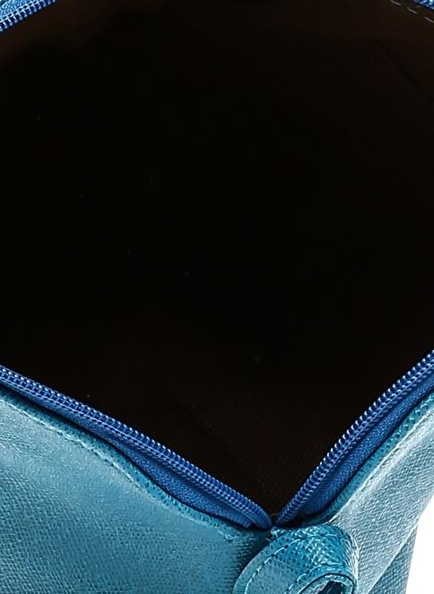 Çöpmadam Clutch / El Çantası Mavi